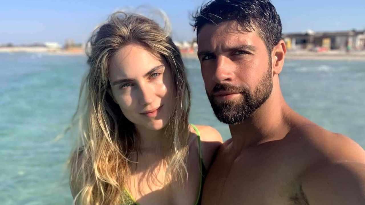 Gilles Rocca e la sua fidanzata Miriam Galanti
