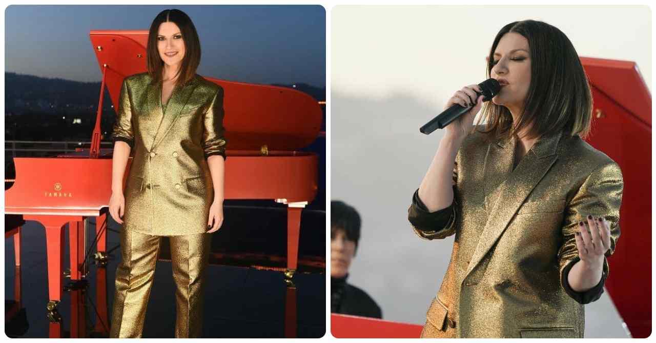 Laura Pausini in oro agli Oscar