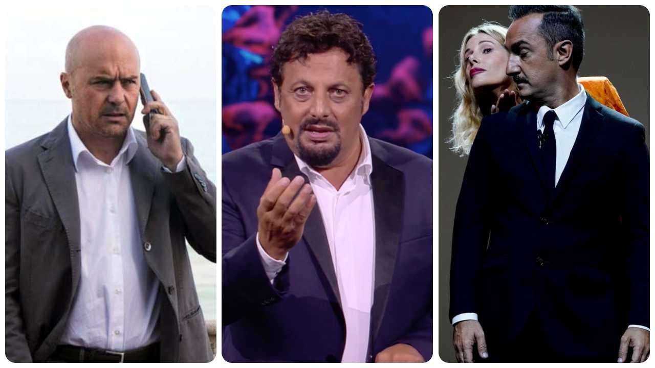 Stasera in tv: Montalbano, Brignano, le Iene