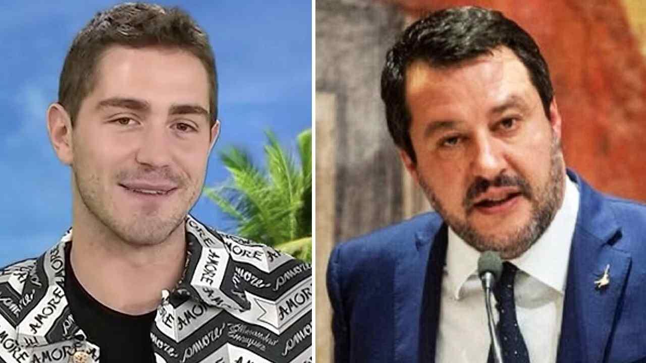 Tommaso Zorzi e Matteo Salvini