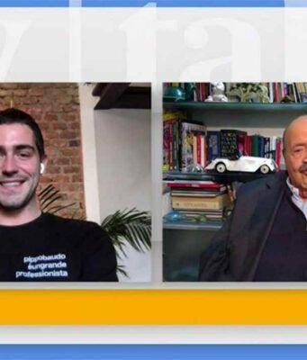 Tommaso Zorzi e Maurizio Costanzo, Tv Talk