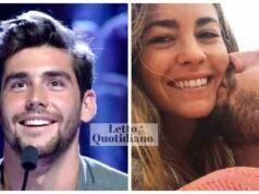 Alvaro Soler e la sua fidanzata