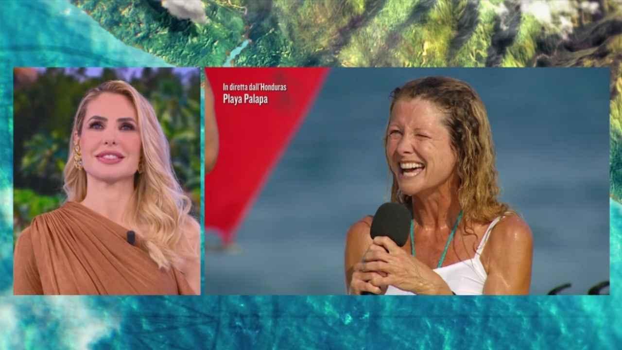 Angela Melillo, L'Isola dei Famosi 2021