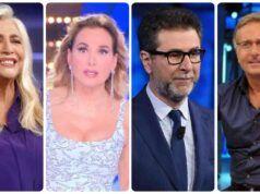 Domenica in tv, Venier, D'Urso, Fazio, Bonolis