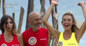 Emanuela, Roberto e Miryea, L'Isola dei Famosi