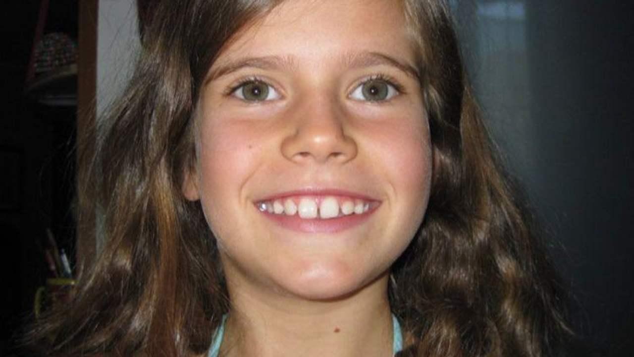 Eugenia Rigotti da piccola bambina