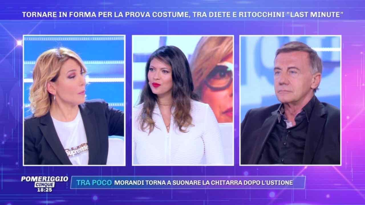Fabiana Britto, Pomeriggio Cinque