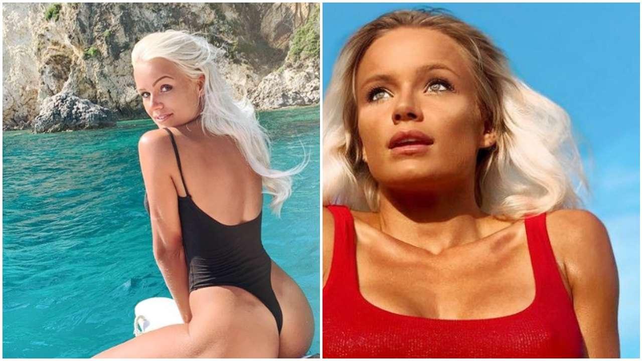 Mercedesz Henger bikini troppo spinto