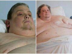 L'uomo di 450 chili Keith Martin