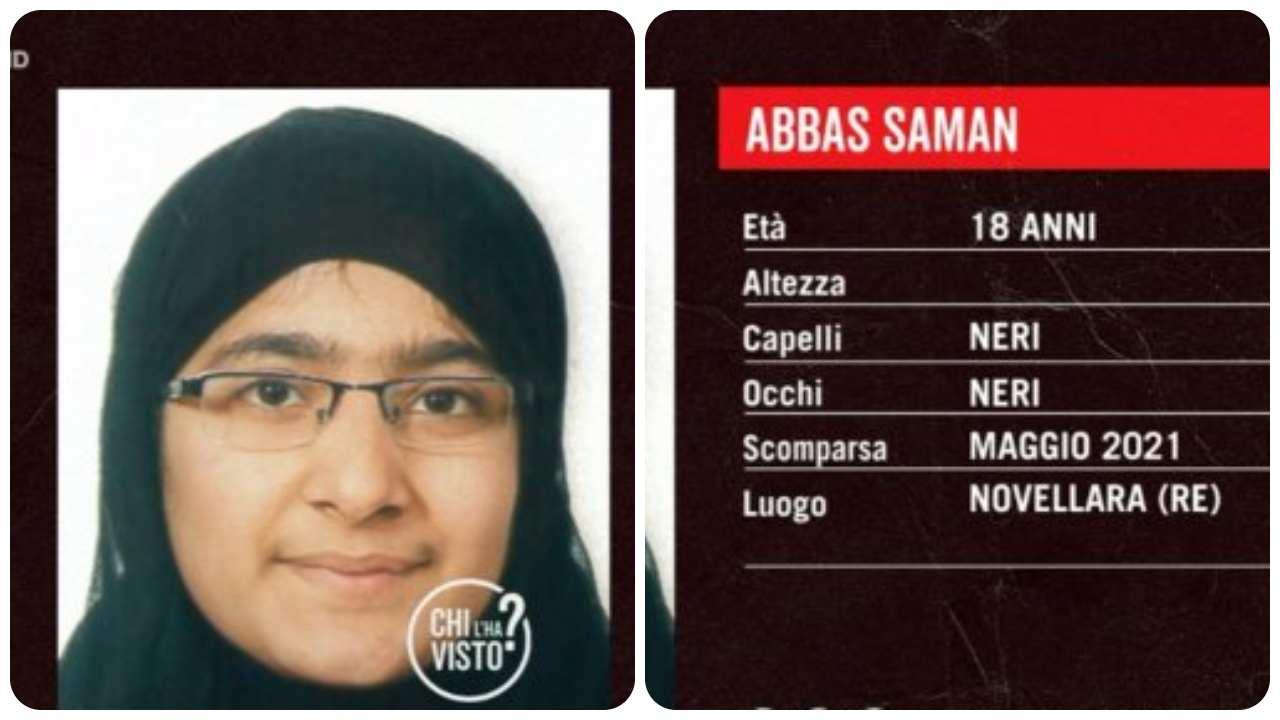 scomparsa Saman Abbas