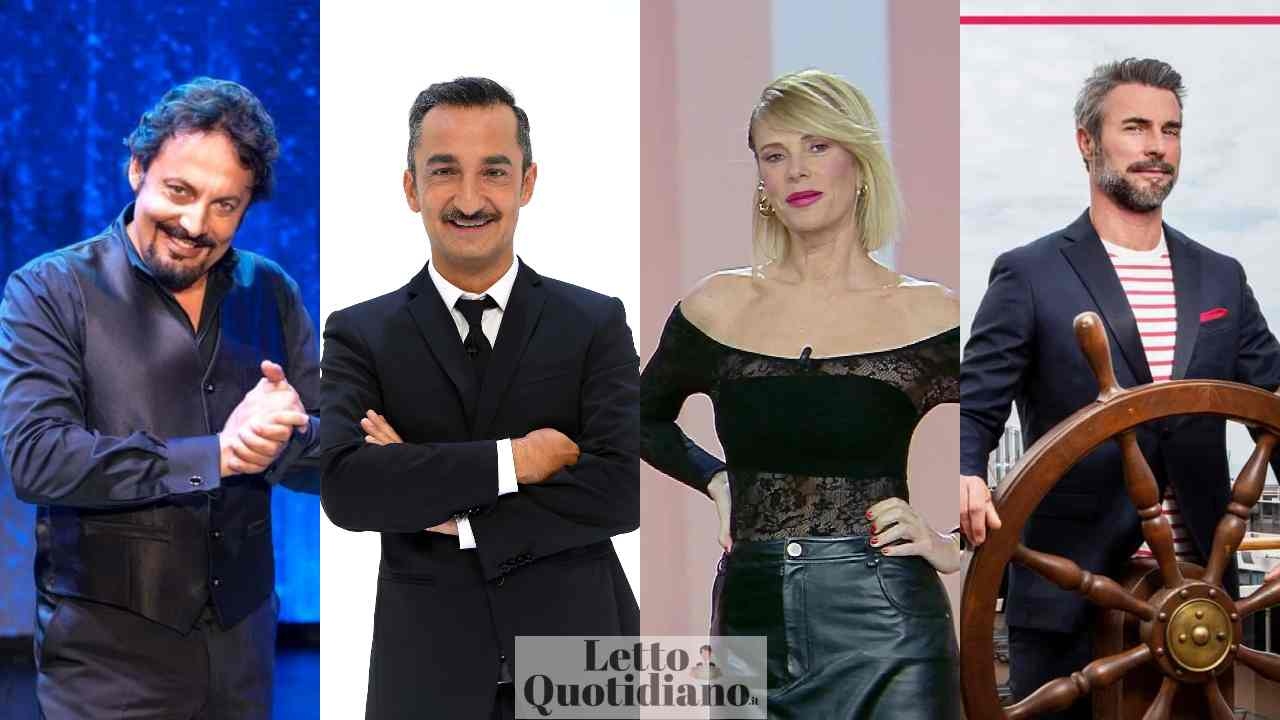 Stasera in tv 18 maggio, Brignano, Marcuzzi e Montrucchio