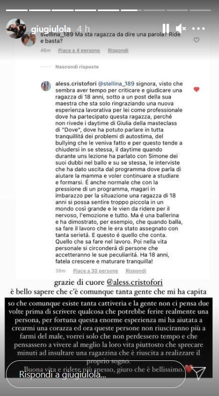 Amici 20, Giulia Stabile nella morsa degli haters: lo sfogo della vincitrice spiazza i fan