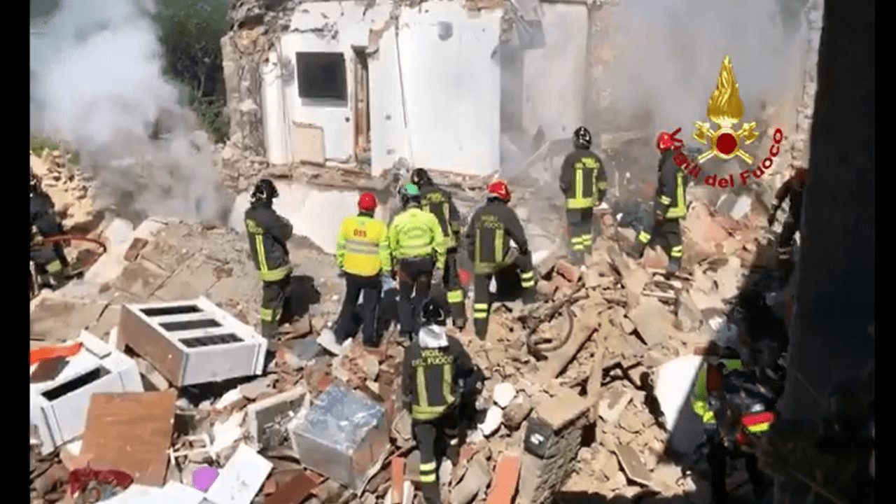 incendio Greve in Chianti