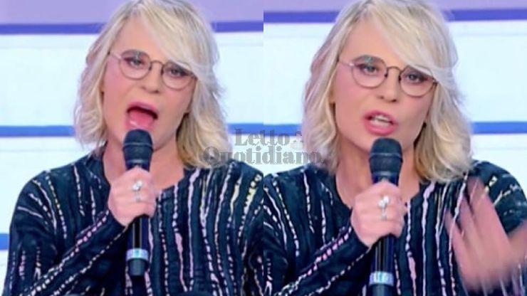 Uomini e Donne, Maria De Filippi furiosa sbotta contro il Cavaliere: il VIDEO diventa virale