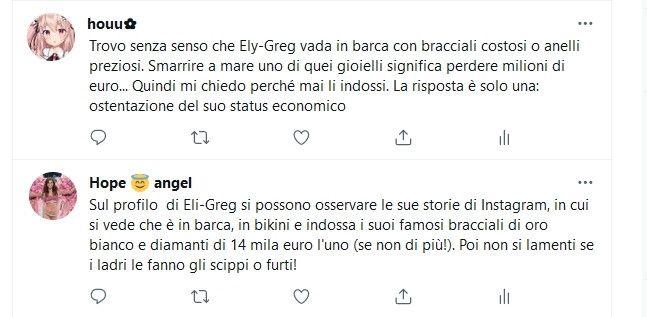 Commenti - Elisabetta Gregoraci