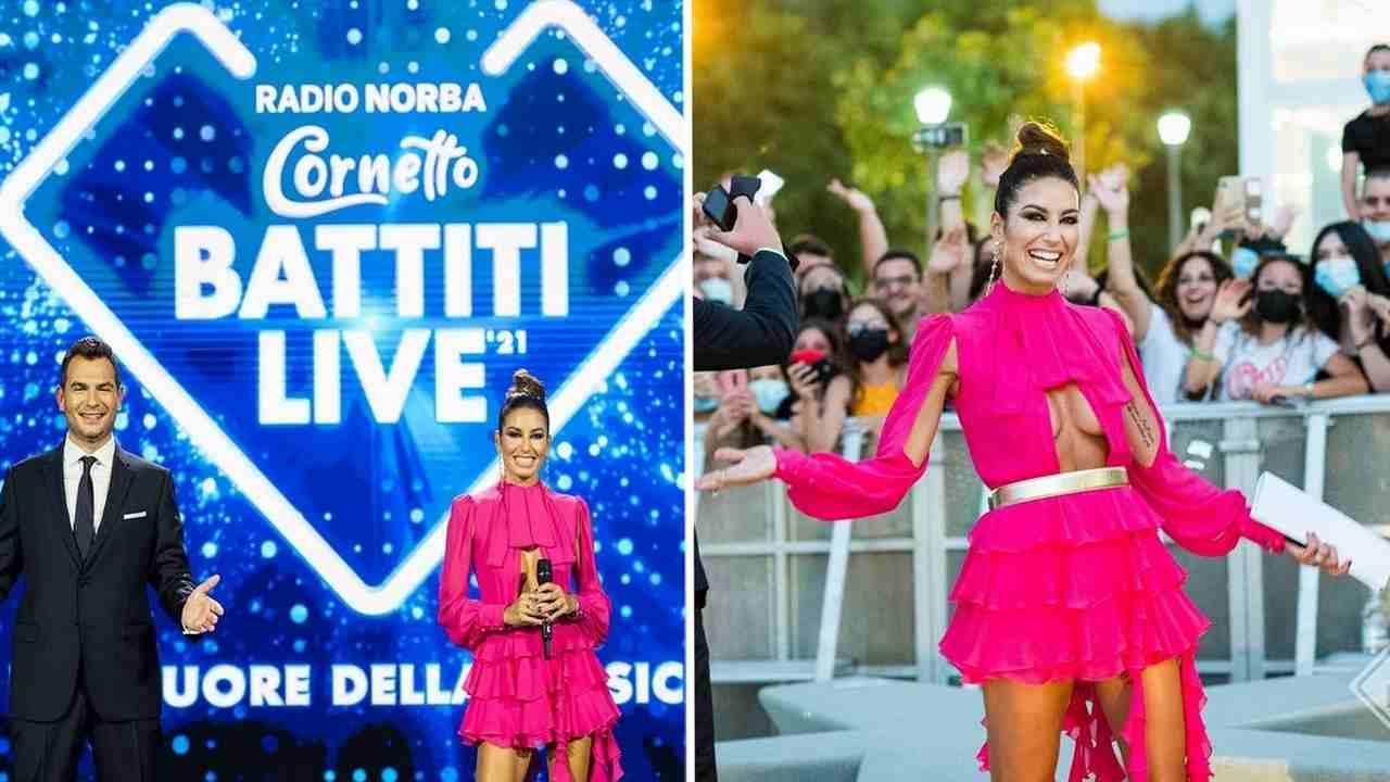 Elisabetta Gregoraci, Battiti Live 2021