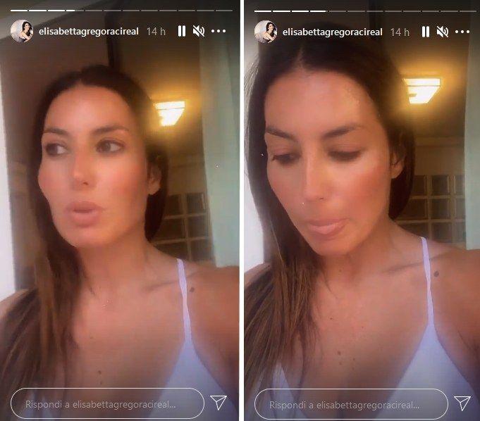 Elisabetta Gregoraci, Instagram stories