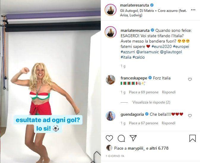 Maria Teresa Ruta, Instagram