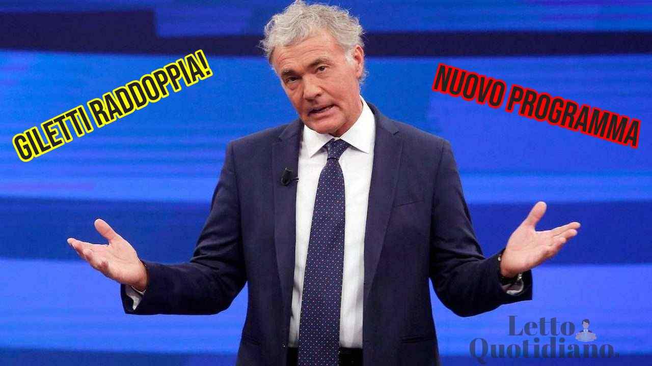 Massimo Giletti nuovo programma La7