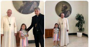noemi incontra papa francesco