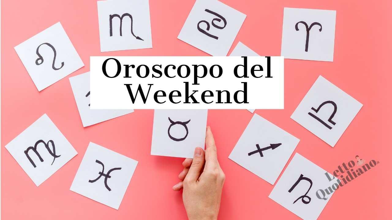 Oroscopo del Weekend del 26 e 27 giugno 2021