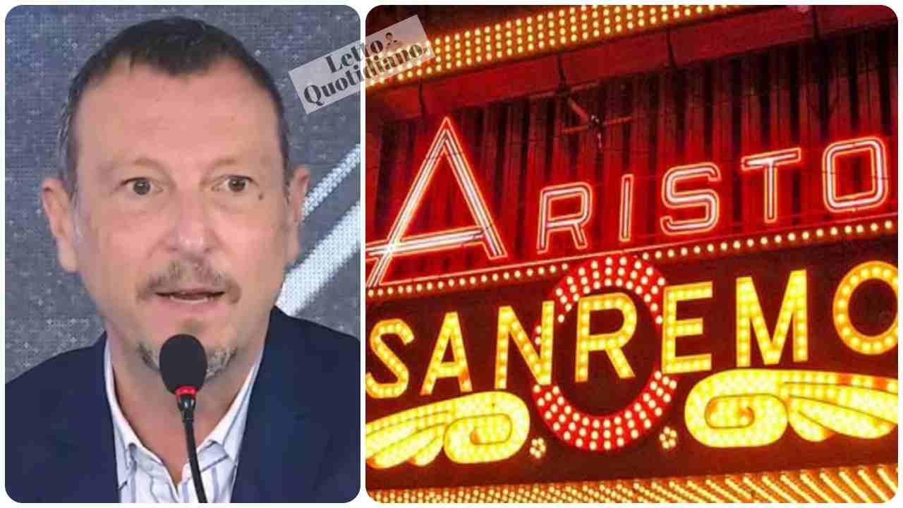 Sanremo 2022, spoiler di Amadeus