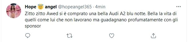 Commento follower Awed