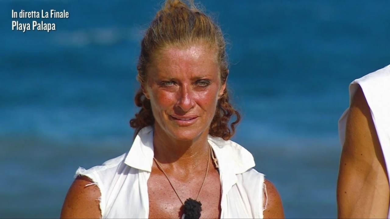 Valentina Persia, finale de L'Isola dei Famosi