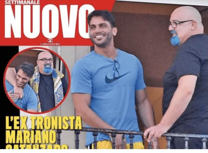 Mariano Catanzaro, chi è il nuovo amore di Giovanni Ciacci: da 'U&D' a 'La Pupa e il Secchione'