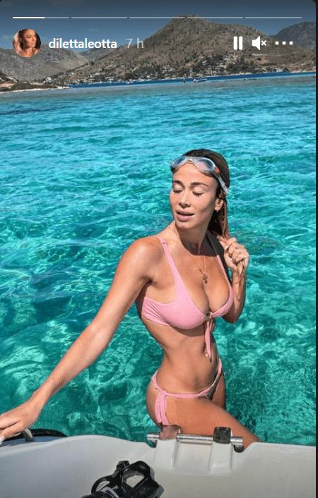 Diletta Leotta in bikini incendia Instagram: una Sirena del Mar Nero - FOTO