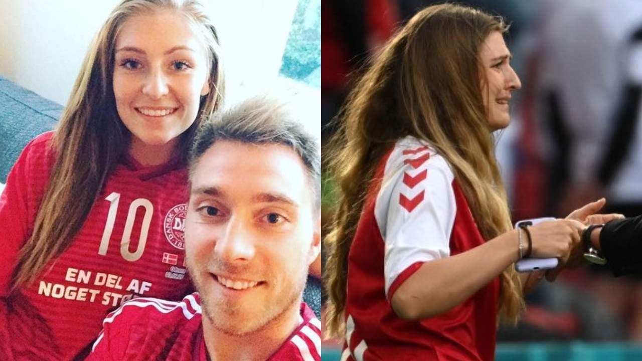 Sabrina Kvist, chi è la moglie di Christian Eriksen: le lacrime di dolore in campo dopo il malore dell'atleta