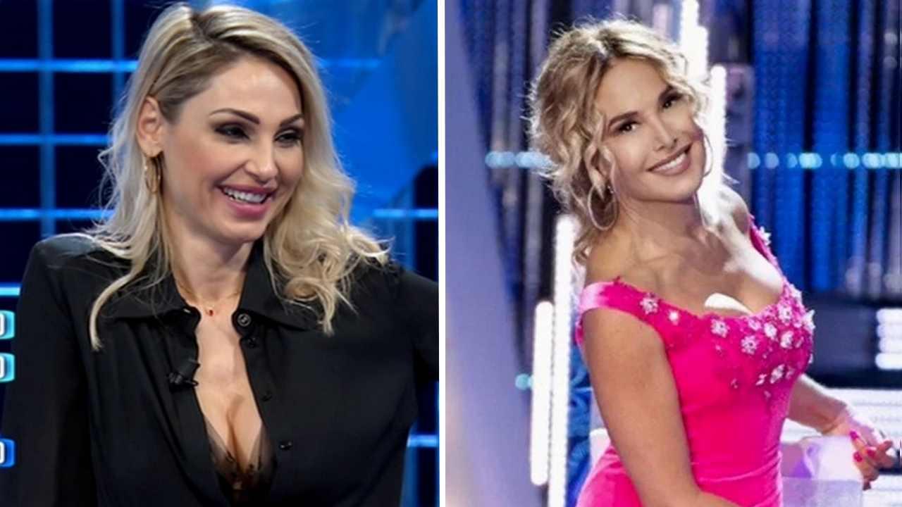 Anna Tatangelo e Barbara D'Urso