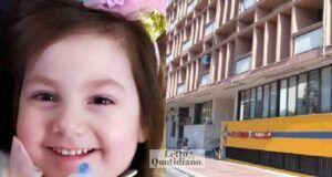 Bambina con una malattia rara