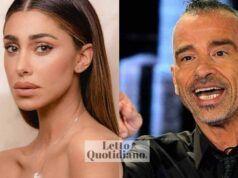 Belen Rodriguez ed Eros Ramazzotti