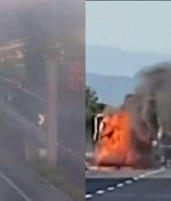 Incidente con un incendio