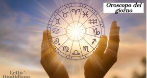 Oroscopo del Giorno 1