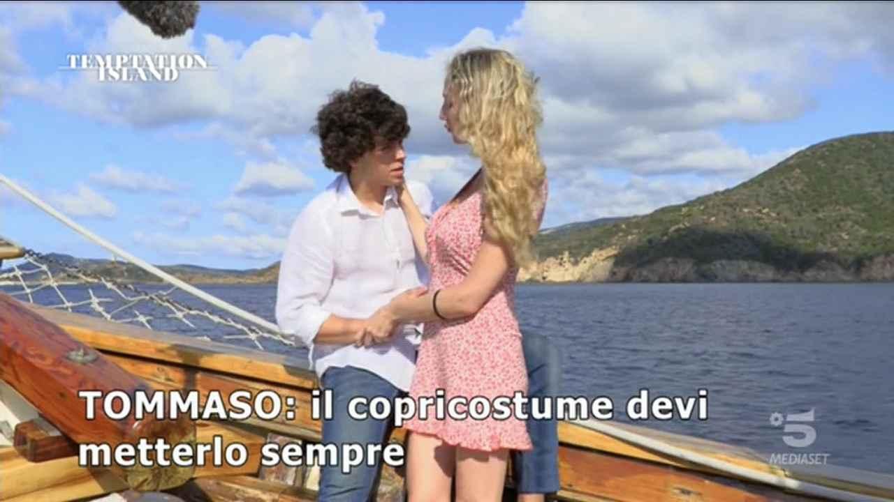 Tommaso e Valentina, Temptation Island
