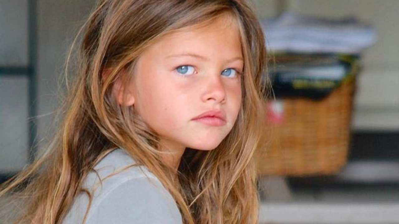 Thylane Blondeau bambina più bella del mondo