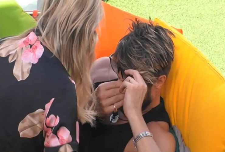 alex belli lacrime