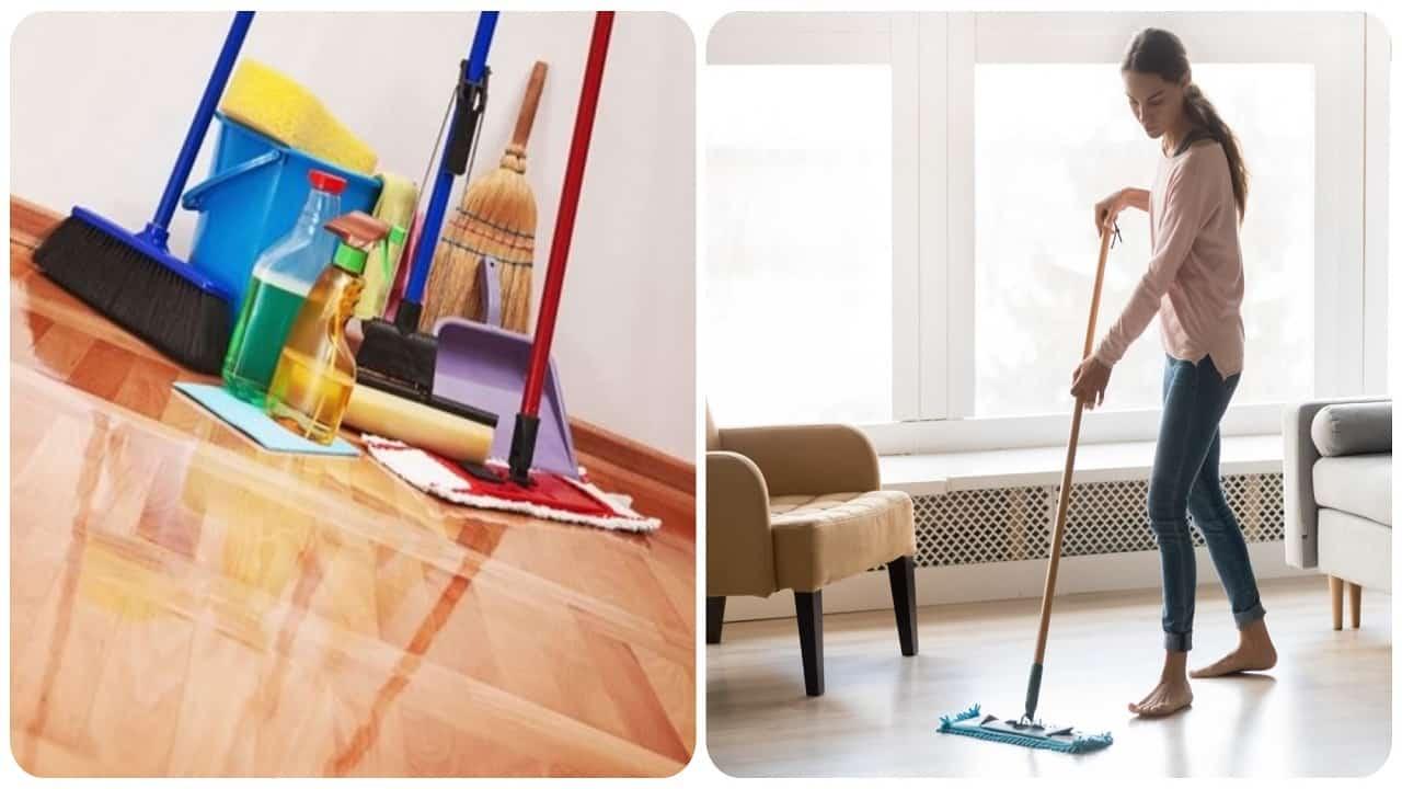 Lavare il pavimento senza detersivi-Lettoquotidiano
