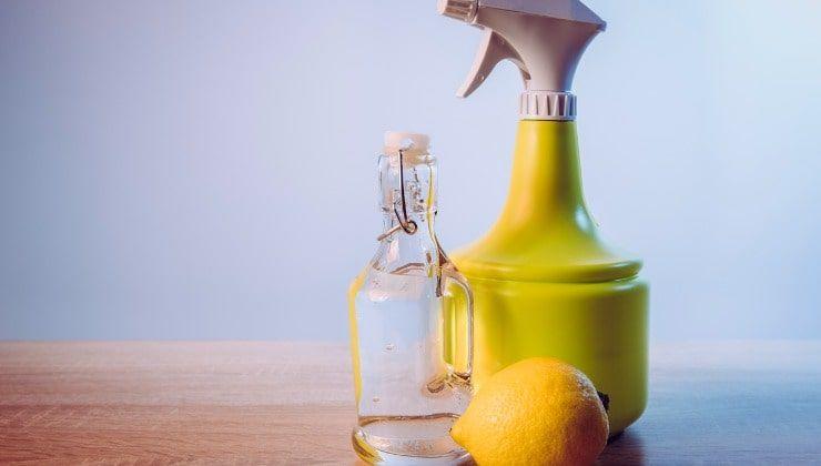 Detergente all'aceto bianco e limone- Lettoquotidiano