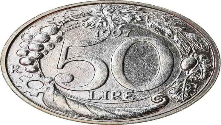 moneta 50 lire- Lettoquotidiano