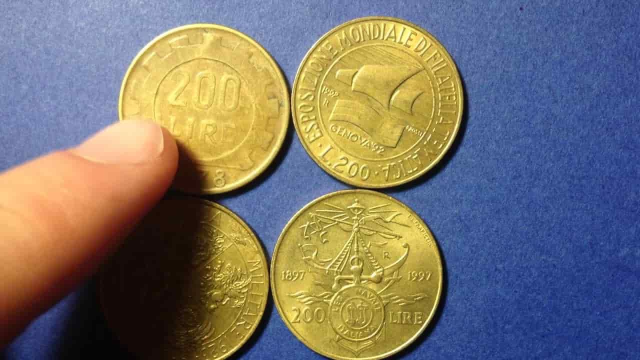 moneta 200 lire valore- Lettoquotidiano